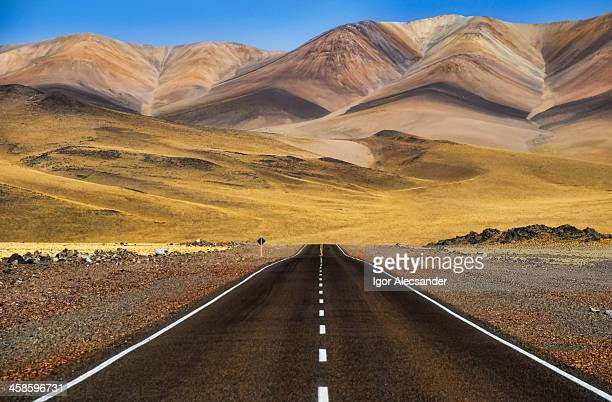 Road in Andes Altiplano