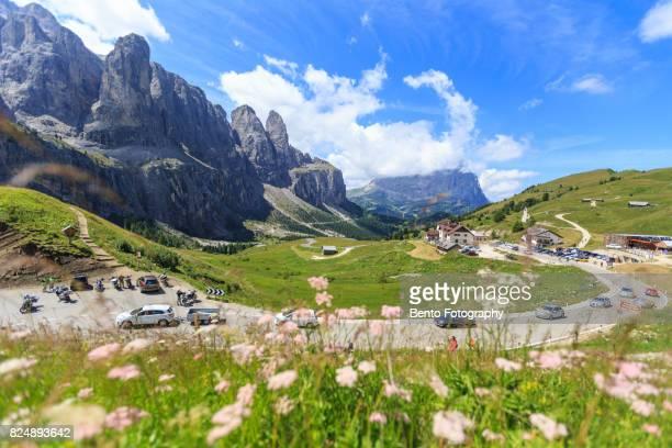 Road in Dolomite, Italy