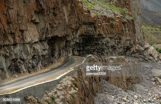 Road in Karakorum : Stock Photo