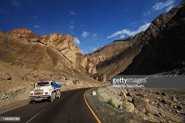 Road in Ladakh, Himalaya