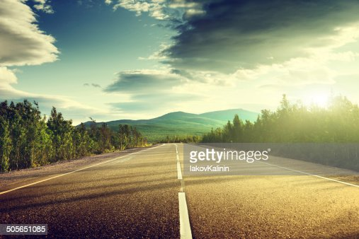 road in mountains : Stock Photo