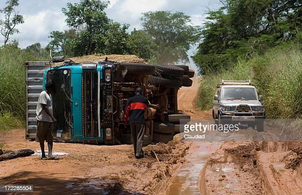 Route dans le sud du Soudan