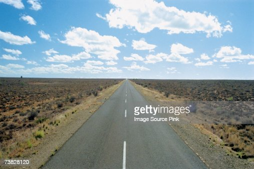 Road in the wilderness : Stock Photo