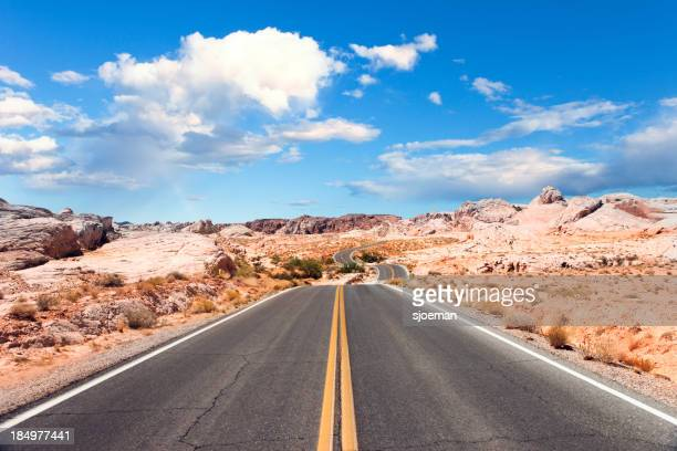 Road im Valley of Fire