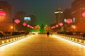 Road in xian
