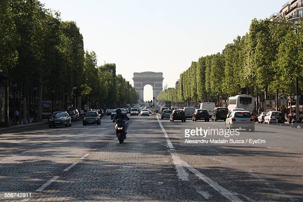 Road Leading To Triumphal Arch