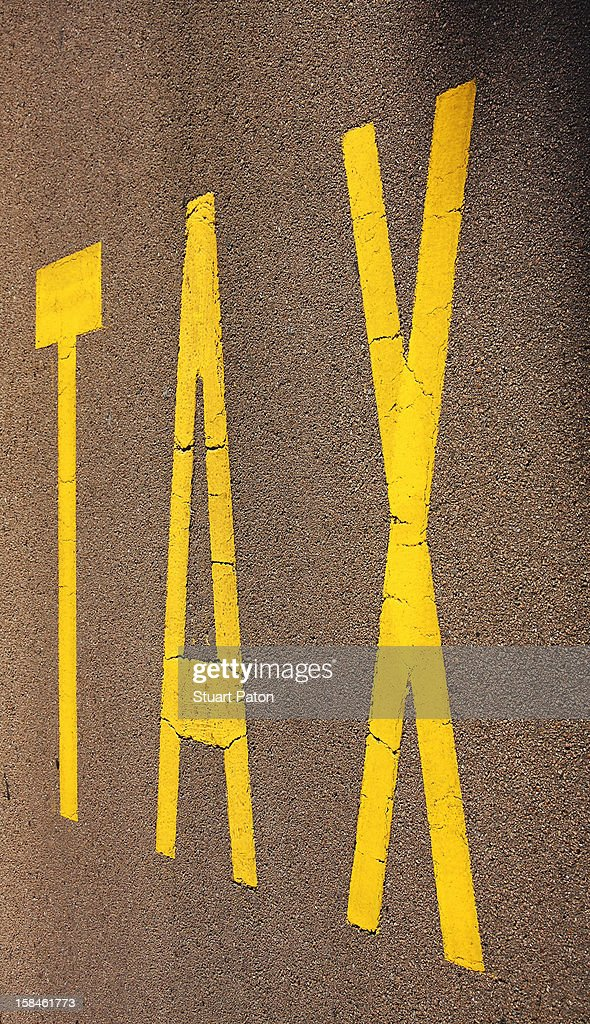 Road lettering : Stock Photo