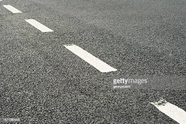 Road Zeichnung: Trennungslinie