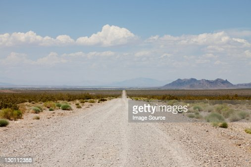 Road von Nevada State Highway 160, USA : Stock-Foto