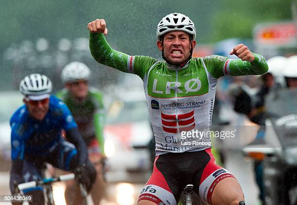 Road Race Elite Hammel Sebastian Lander Glud Marstrand LRØ Danish Champion © Lars Ronbog Frontzonesportdk