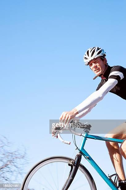 Road racing cyclist