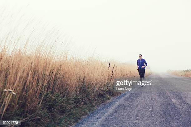 Road Running in the Countryside