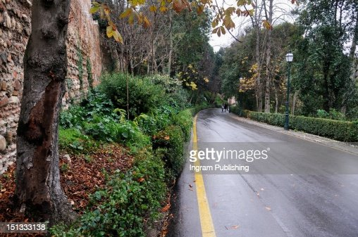 Road running through the countryside. : Stock-Foto