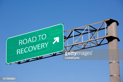 Road sign to recovery