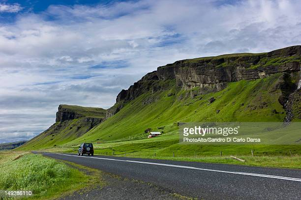 Road through countryside, Iceland