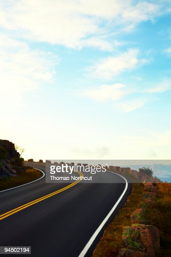 road to cadillac mountain low angle stock photo getty images. Cars Review. Best American Auto & Cars Review
