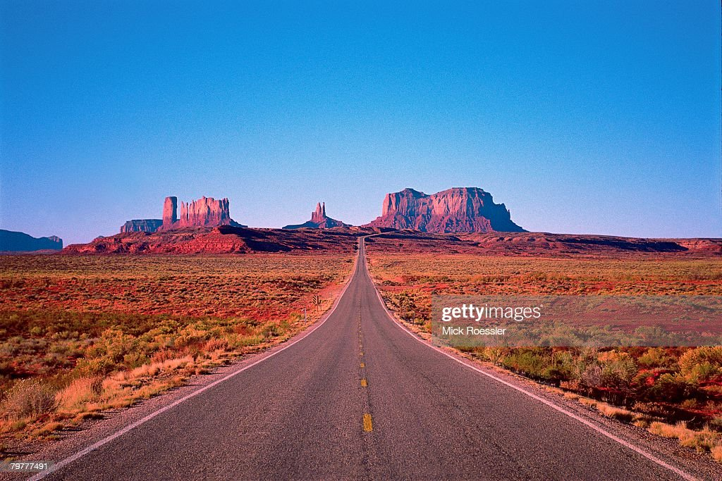 Road To Monument Valley Buttes