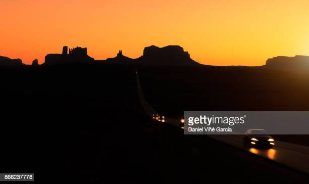 Road to Monument Valley Tribal Park