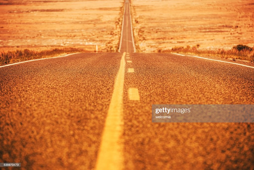 Road To Nowhere : Stock Photo