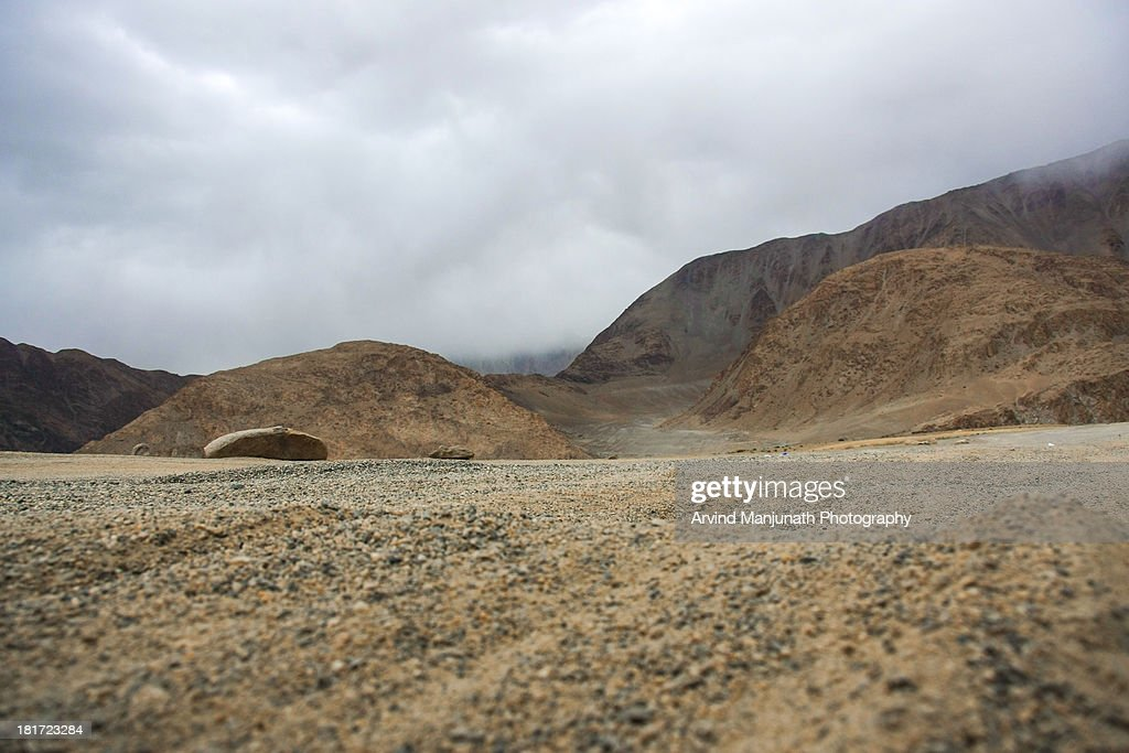 Road to Pangong Tso