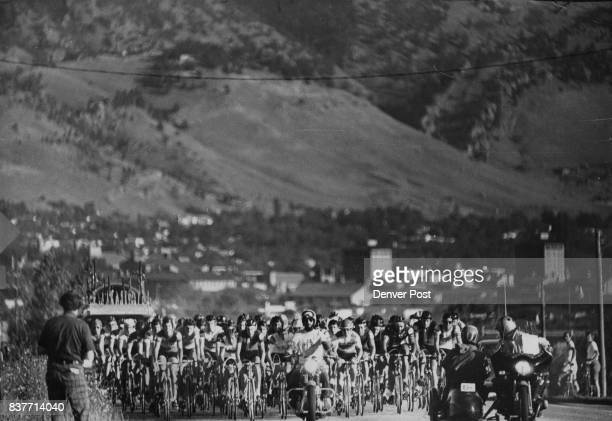 Riders Head For The High Country In 1976 Red Zinger Classic Nation's richest bicycle race opens six days of competition with July 19 road event in...