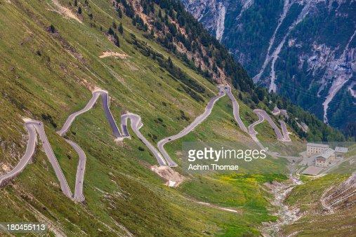 Road to Stilfser Joch