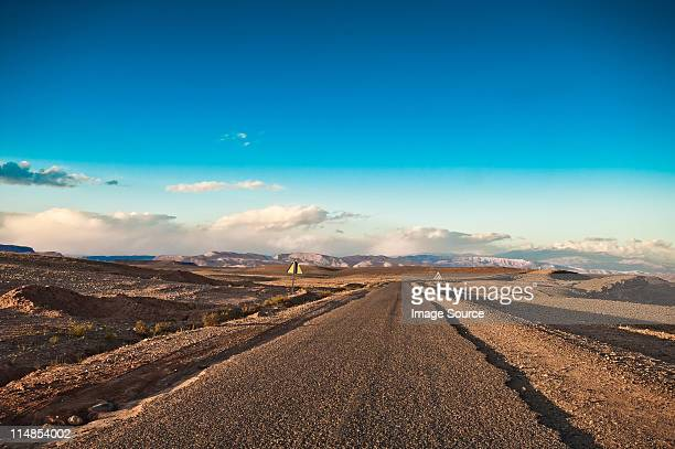Road to Tamdaght, Morocco, North Africa