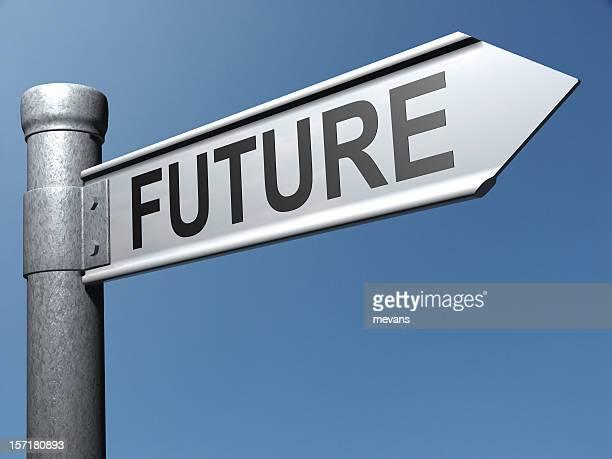 Weg in die Zukunft