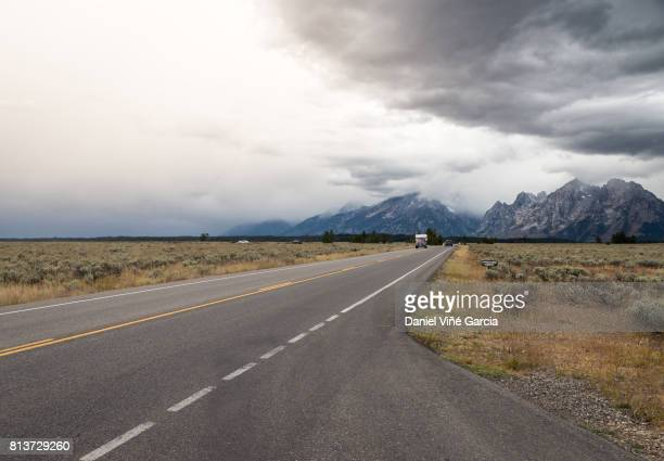 Road to the Grand Teton