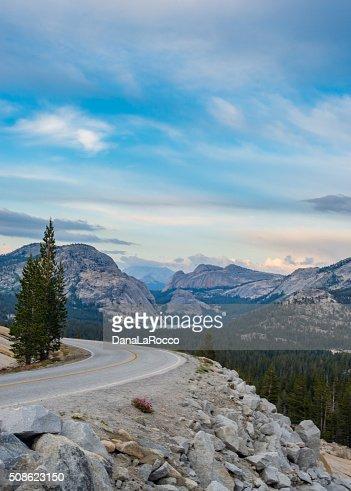 Road to Yosemite : Stock Photo