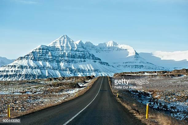 Road trip to Berufjördur Eastfjords of Iceland