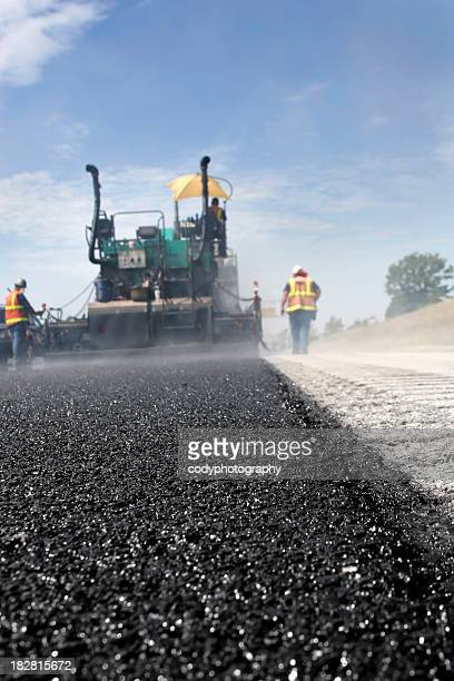 Road Work Asphalt