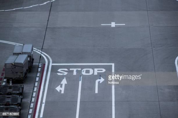 Une route rédigée comme butée.