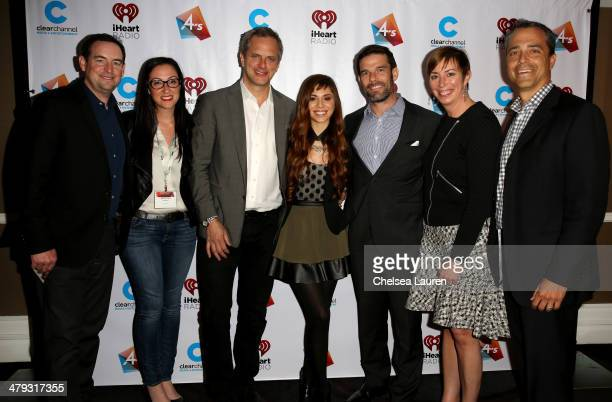 Roadrunner Records' Mike Easterlin Clear Channel Artist Relations Senior Director Marissa Morris Clear Channel National Programming Platforms...