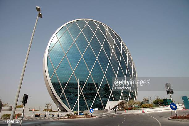 Roads lead to the headquarters of Aldar Properties PJSC Abu Dhabi's biggest real estate company in Abu Dhabi United Arab Emirates on Tuesday March 27...