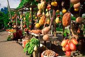 Roadside produce stand, Jamaica