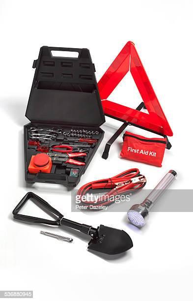 Roadside rescue kit