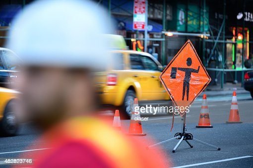 Roadwork on the NYC road