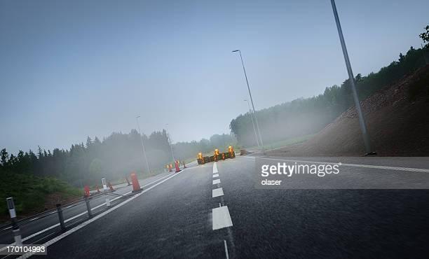 Roadwork on the road