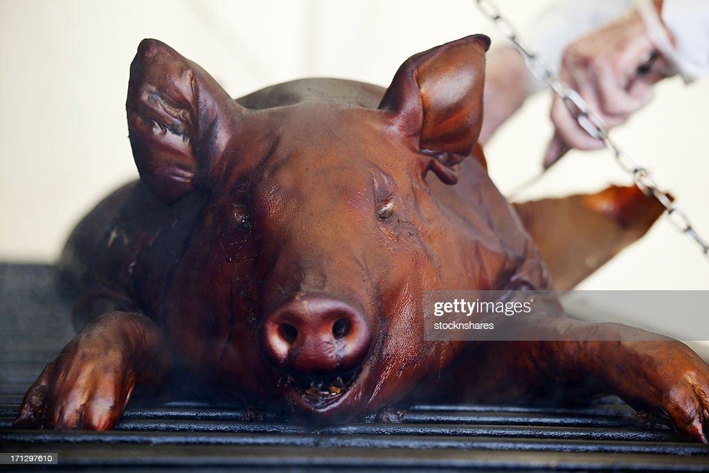 Roast BBQ Pig