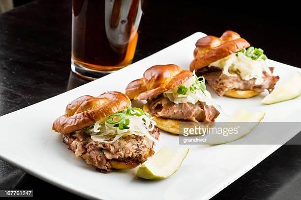 Roast Beef Slider Sandwiches