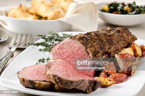 Roast Beef Tenderloin Dinner
