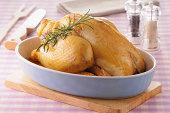 Roast Bresse chicken