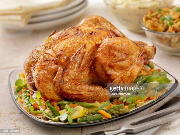 Pollo arrosto cena