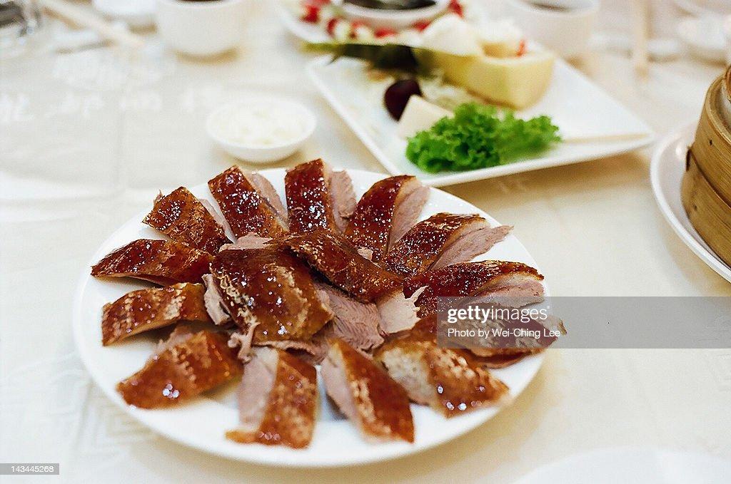 Roast duck : Stock Photo