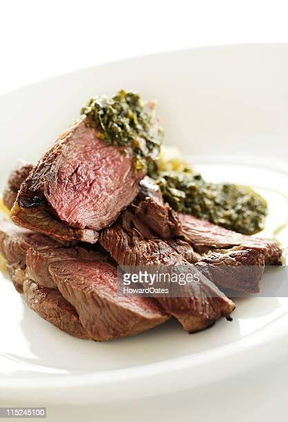 Roast Lamb and Salsa Verde