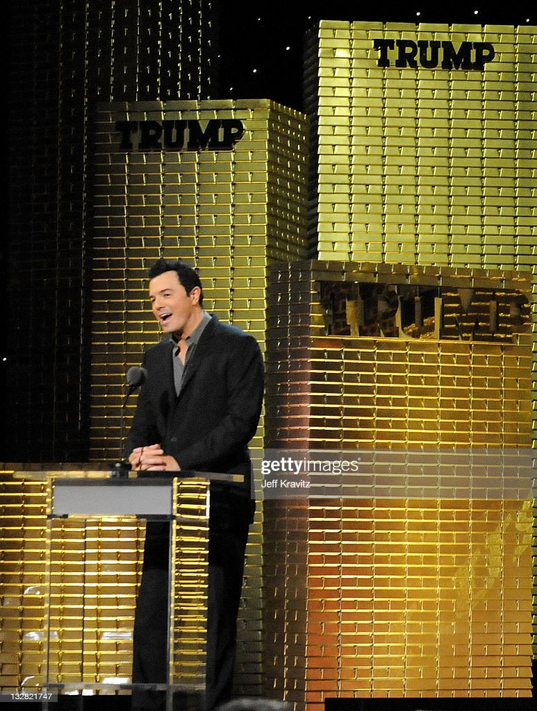 ... Roast of Donald Trump at the Hammerstein Ballroom on March 9, 2011 in