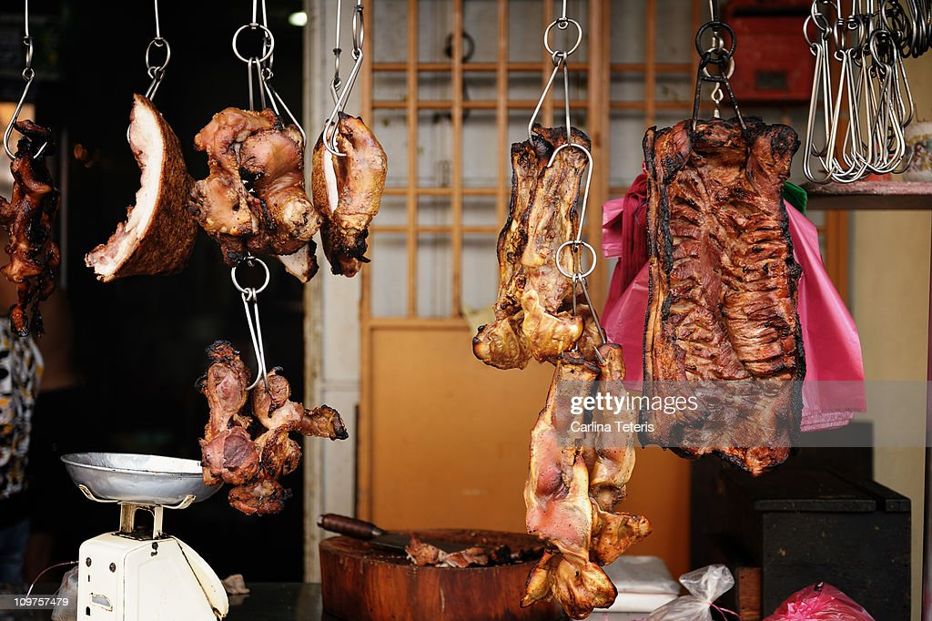 Roast pork : Stock Photo