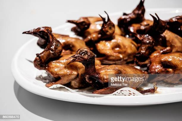 Roasted Baby Pigeon