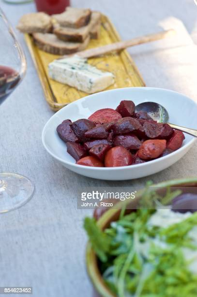 Roasted Beets and Outdoor Summer Dining